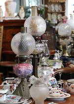 Kerosene lamps - Large, small, all working