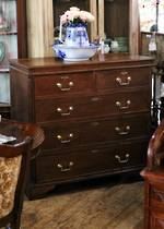 Georgian Oak Chest of Drawers - Secret Compartments! $3950