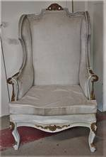 French Wing Back Chair