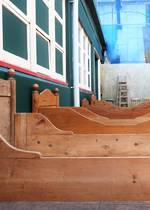 Baltic Pine Single/Double Sleigh Beds & Head-Boards $450 - $950