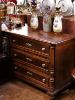 Antique French Walnut  Chest of Drawers circa AD1850 $1850.00