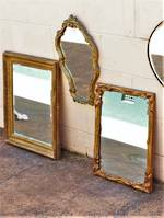 Smaller Medium size wall mirrors