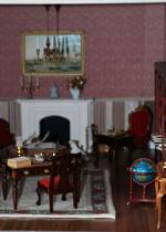 Magnificent Georgian Dolls House, Fully Furnished  with Handmade Treasures