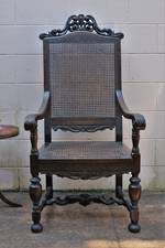 Large Throne - like Carver Chair $995.00