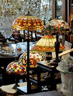 standard lamp tiffany style