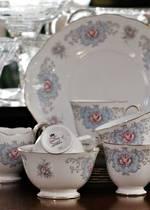 Queen Anne Porcelain Tea Set