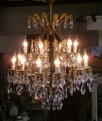 Strauss Crystal chandelier