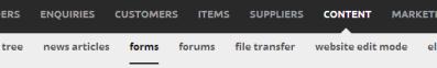 contentforms
