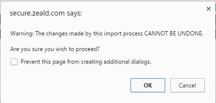 Step7 import