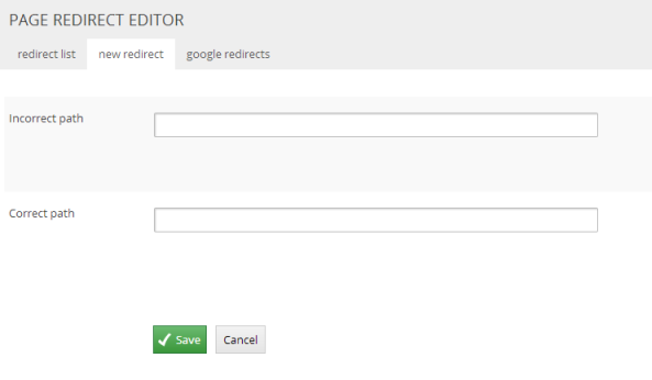 redirecteditor
