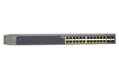 NETGEAR - ProSafe 24-port Gig Smart Switch PoE+ & 4 SFP Ports