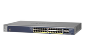 NETGEAR ProSafe 24-port Gigabit L2+ Managed PoE+ Switch