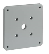 Bosch - MIC Wall Mount Spreader Plate - White