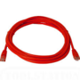 Patch Lead Cat5e Red - 0.5m